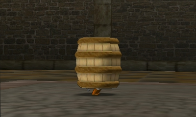 File:Hyrule Warriors Legends Toon Link Barrel (Battle Intro).png