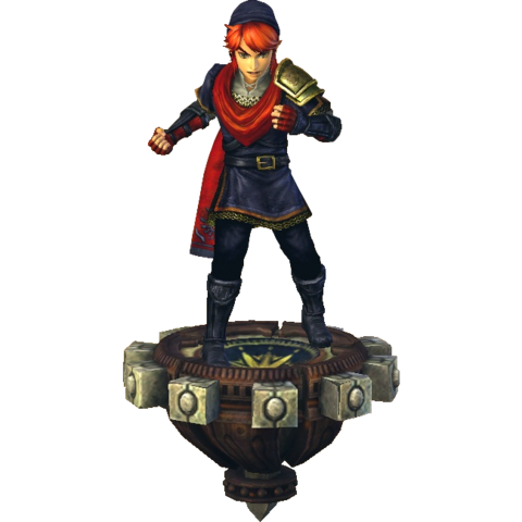 File:Hyrule Warriors Link Hero's Clothes (Boss - Ganon Recolor).png