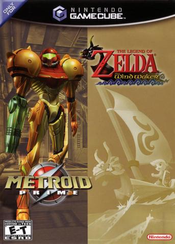 File:The Legend of Zelda - The Wind Waker & Metroid Prime Bundle.png