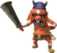 Red Bokoblin Leader