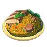 Breath of the Wild Food Dish (Pilaf) Prime Poultry Pilaf (Icon).png