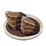 Breath of the Wild Food Dish (Honey Glazed) Glazed Meat (Icon).png