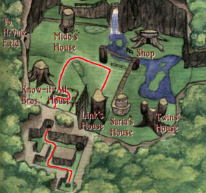 Kokiri Forest Map