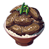 Breath of the Wild Food Dish (Meat & Rice Bowls) Gourmet Meat and Rice Bowl (Icon).png