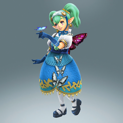 File:Hyrule Warriors Legends Agitha Standard Outfit (Lorule - Seres Recolor).png