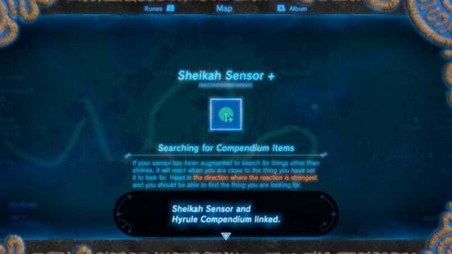 File:Breath of the Wild Sheikah Slate Sheikah Sensor + (Upgrade).png