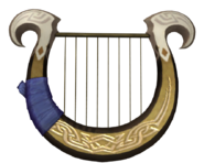 Hyrule Warriors Goddess's Harp (Render)