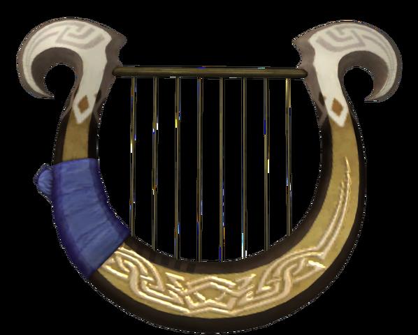 File:Hyrule Warriors Goddess's Harp (Render).png