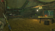 Breath of the Wild Great Plateau Woodcutter's Cabin (Interior)