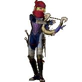 Hyrule Warriors Legends Sheik Standard Outfit (Great Sea - Tetra Recolor)