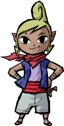 File:The Wind Waker Artwork Tetra (Official Artwork).png