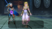 Hyrule Warriors The Water Temple I am Zelda! (Cutscene)