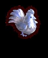 Hyrule Warriors Cuccos Silver Cucco (Dialog Box Portrait)