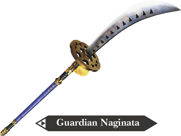 File:Hyrule Warriors Naginata Guardian Naginata (Render).png