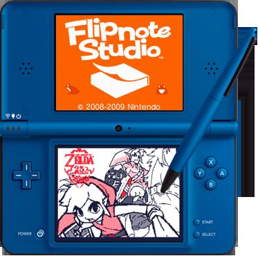 File:Zelda Flipnote.png