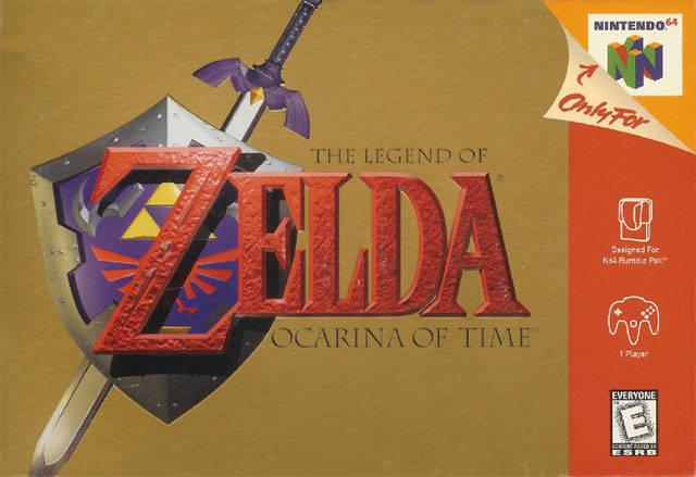 File:The Legend of Zelda - Ocarina of Time (North America).png