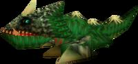 Um Dodongo em Ocarina of Time e Majora's Mask