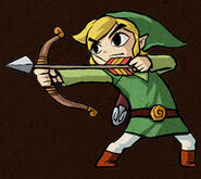 Link with Bow (Four Swords)