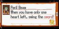 Peril Beam