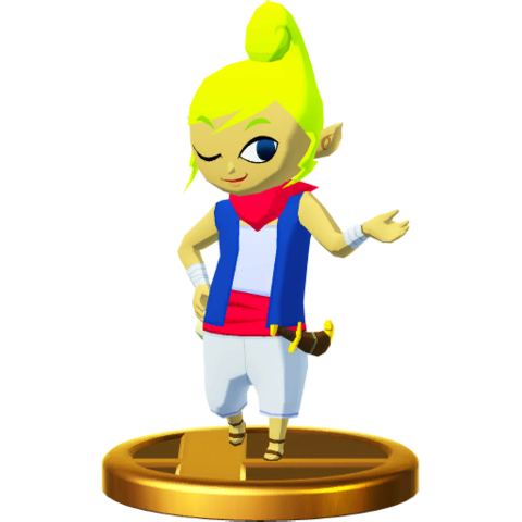 File:Super Smash Bros. for Wii U Pirate Princess Tetra (The Wind Waker) Tetra (Trophy).png