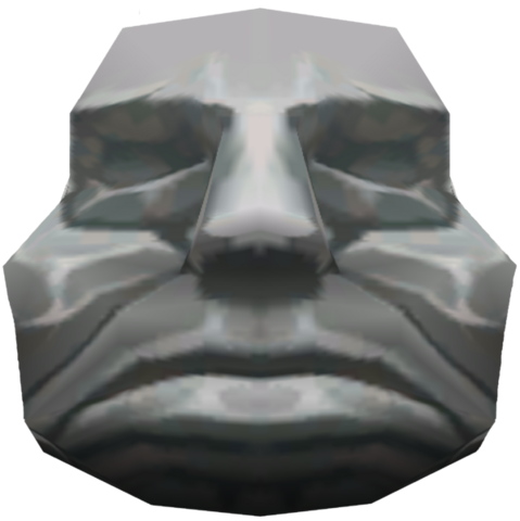 File:The Wind Waker Obstacles Stone Head (Render).png