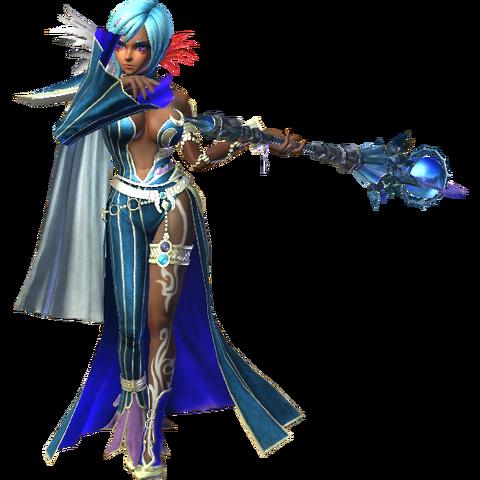 File:Cia - (Cia's Lana Recolor) Alternate Hatless Cia outfit (Hyrule Warriors Twilight Princess DLC).png