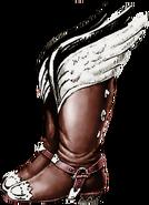 Link's Awakening Artwork Pegasus Boots (Official Artwork)