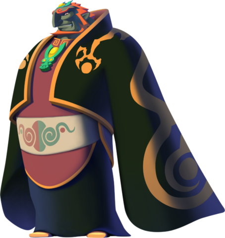 File:The Wind Waker HD Artwork Toon Ganondorf (Official Artwork).png