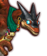 Hyrule Warriors Enforcers Fiery Aeralfos (Dialog Box Portrait)