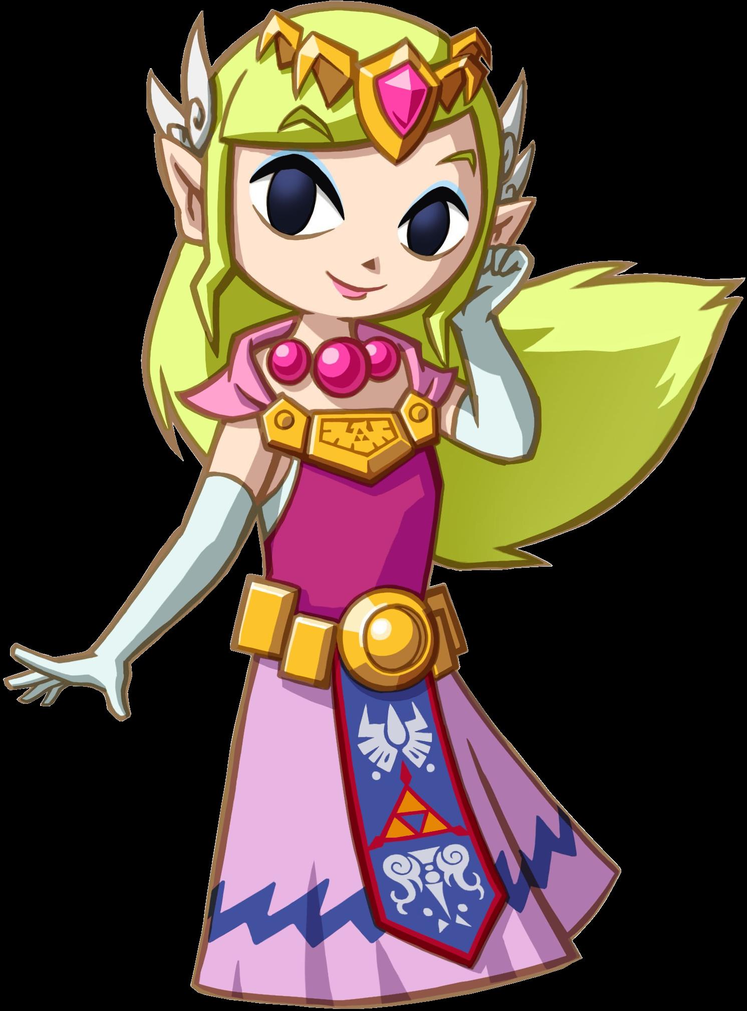 Image princesse zelda zeldawiki fandom - La princesse zelda ...