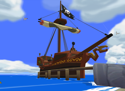 Tetra's Pirate Ship (The Wind Waker)