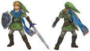 Hyrule Warriors Artwork Link (Concept Art)