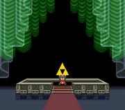 Link Obtains the Triforce