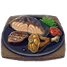 File:Breath of the Wild Food Dishes Meat and Seafood Fry (Icon).png