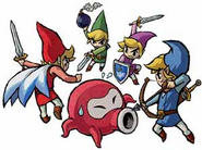 Octorok Artwork (Four Swords)