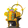 File:Breath of the Wild Gerudo Chief's Heirloom Thunder Helm (Icon).png