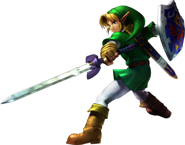 File:Link Attacking (Soulcalibur II).png