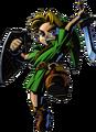 Link Artwork 2 (Majora's Mask)