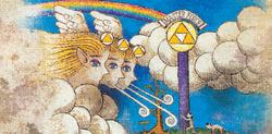 A Criação de Hyrule pelas Deusas Douradas