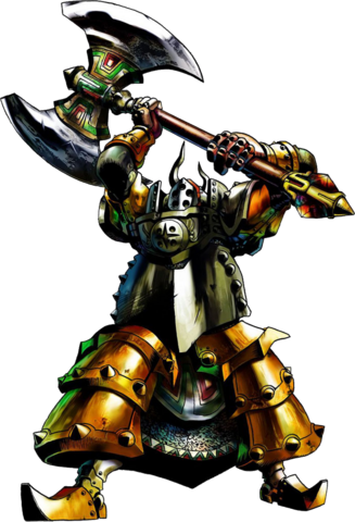 File:Iron Knuckle Artwork (Ocarina of Time).png