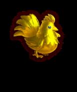 Hyrule Warriors Cuccos Gold Cucco (Dialog Box Portrait)