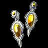 File:Breath of the Wild Jewelry (Earrings) Topaz Earrings (Icon).png