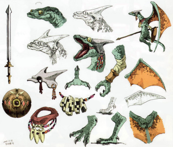 File:Twilight Princess Artwork Aeralfos (Concept Art Hyrule Historia).png