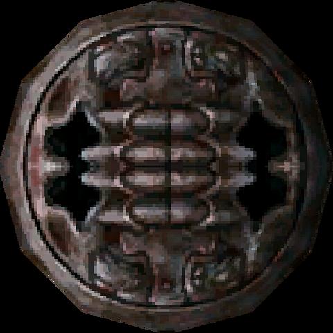File:Twilight Princess Enemy Weapons Stalfos Metal Shield (Render).png