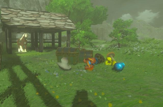 File:Breath of the Wild amiibo Rune drops Link (Rider).png
