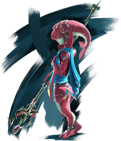 File:Mipha Artwork (Breath of the Wild).png