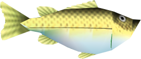 File:Ocarina of Time Fish Bass (Render).png