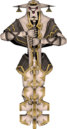 Skyward Sword Guardian Mace Guadian - Inactive (Render)