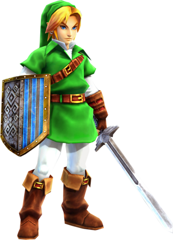 File:Hyrule Warriors Link Kokiri Tunic (DLC Outfit).png