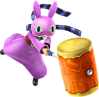 Hyrule Warriors Legends Ravio Rental Hammer (Render)